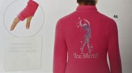Mondor Model 24488 Polartec Skating jacket With Sequin Applique Super Pink 12-14 - $110.00