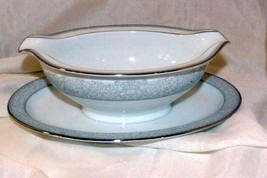 Noritake 1966 Astor #6321 Gravy Boat With Attached Under Plate - $20.78