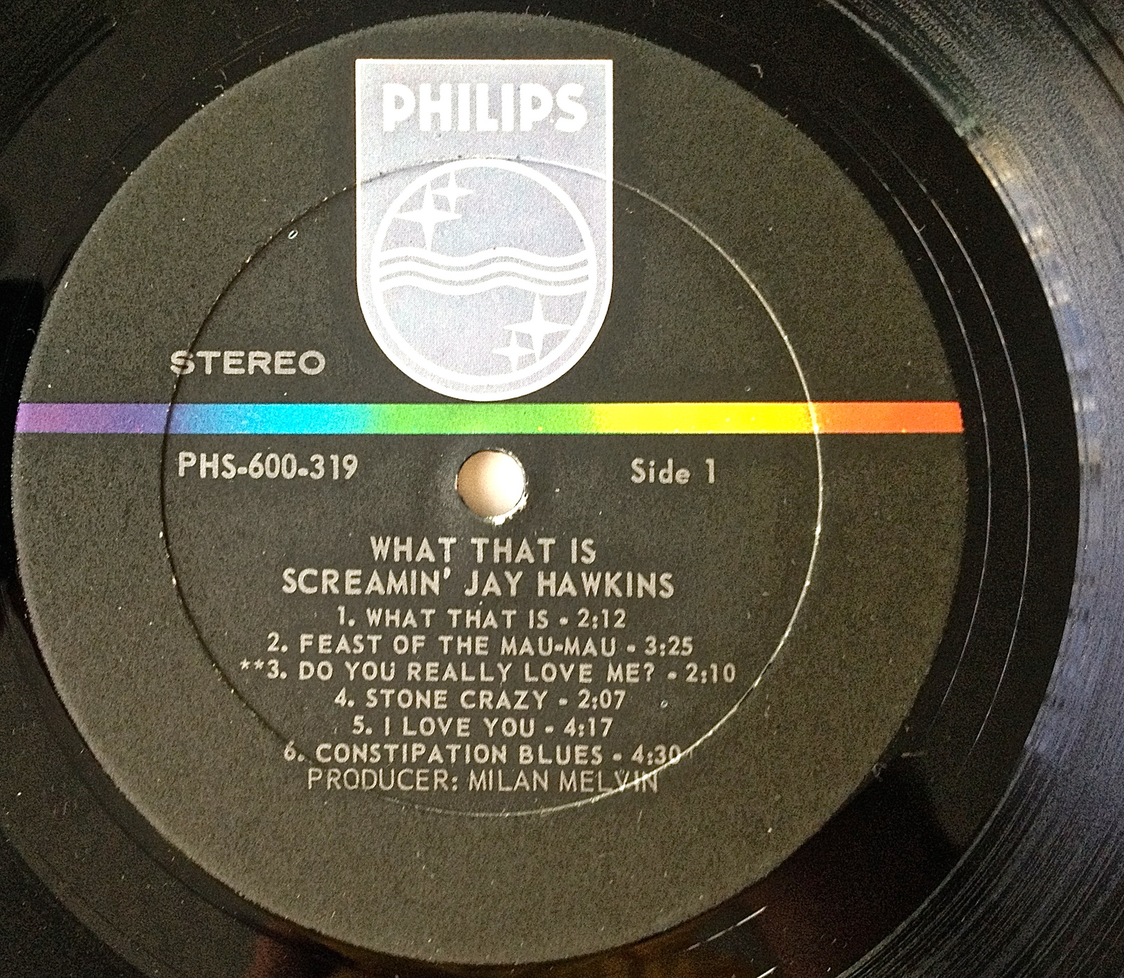 Screamin' Jay Hawkins - What That Is! LP Vinyl Record Album, Philips-PHS 600-319