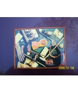 Golfers Dream card box with 2 sets playing cards golf covers or faces - $3.00