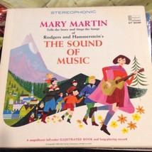 Mary Martin Rodgers & Hammerstein Sound Of Music LP Harry Wysocki Illust... - $64.35