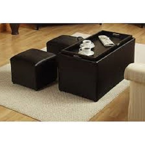Coffee Table Ottoman Set Barrel Studio Trout River 3