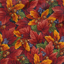 Longaberger 1997 Hostess Pumpkin Stand Up Liner in Fall Foliage Fabric - $17.59