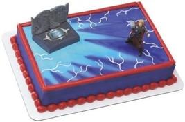3D Cake Decorating Kit, Thor Avengers Acton Figure, DecoPac, Free Shipping - $9.75