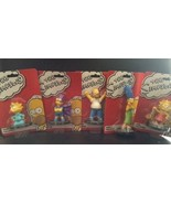 The Simpsons Character Set of 5 - Cake Toppers - New - $27.72