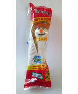 NEW Sealed in Pkg PEZ Snowman Dispenser & Candy... - $5.14