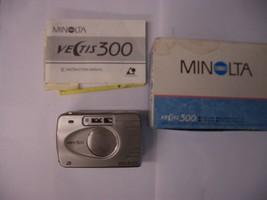 Minolta Vectis 300 / AF 24-70mm Point & Shoot APS Film Camera # 2212-301 - $13.46