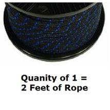 "Premium Quality Braid Starter Rope Cord # 6 Diameter 3/16"" By The Foot 200' - $1.27"