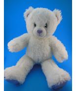 """Build a Bear Hannah Montana Teddy Bear 16"""" White & Irridescent  Sparkles - $7.95"""