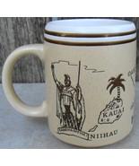 Hawaii Pottery Mug Showing Islands - $20.00