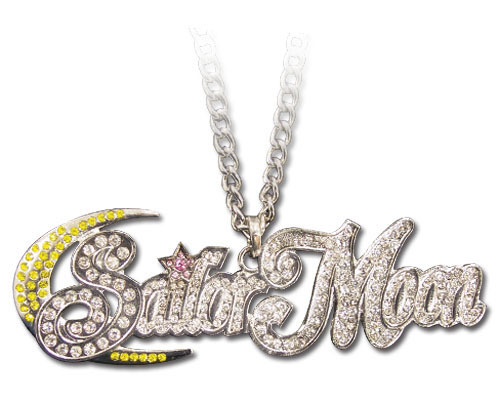 Sailor Moon Studded Logo Necklace GE80525 NEW! - $21.99