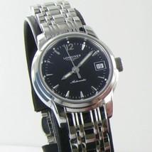 Longines L22634526 St Imier Automatic Black Dial Steel Ladies Watch NWOT $2000 - $1,309.49