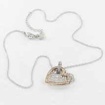 Swarovski 5032964 Amorous Versatile Pendant Crystal Rose Gold Rhodium-Pl... - $96.99