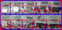 1999 1 each P&D 10 Individual Seal Unc-60 Littleton Quarters DE, PA, NJ,... - $18.57