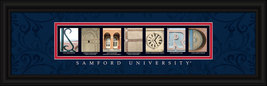 Samford University Officially Licensed Framed Letter Art - $39.95