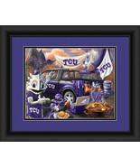"""TCU Horned Frogs """"Tailgate Celebration""""-15 x18 Framed Photo - $39.95"""