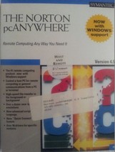 Symantec The Norton pcAnywhere Version 4.5 Host and Remote Software - $10.10