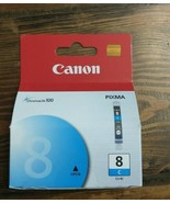 Canon Pixma Cli-8CCYAN Ink Cartridge 13ml Chromalife100 NIB - $12.82