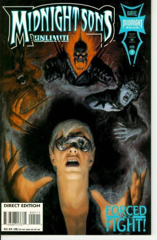 MIDNIGHT SONS UNLIMITED #5 NM! ~ GHOST RIDER