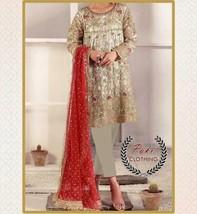 STITCHED DRESS PAKISTANI INDIAN SALWAR KAMEEZ ANARKALI MARIA B. SANA ABBAS, ZARA image 1