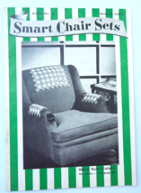 """Vintage Crochet Pattern Book """"Smart Chair Sets"""" 1941 by Spool Cotton Co ... - $4.19"""