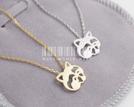 Adorable Raccoon necklace, bear necklace, raccoon necklace, animal neckl... - $8.90