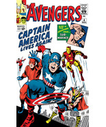 Avengers # 4 Fridge Magnet - $3.95