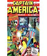 Captain America #1 Fridge Magnet - $3.95