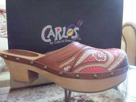 Carlos by Carlos Santana Women's 'Tribe' Clog Size 10 - $45.00