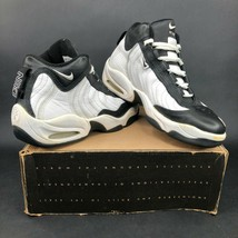 Nike Air Post 'Em Up TB Womens 10 White Black Basketball Shoes Sneakers ... - $56.10