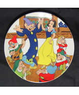 """Disney Plate Snow White & the Seven Dwarfs """"The Dance"""" Limited Edition 1... - $31.18"""
