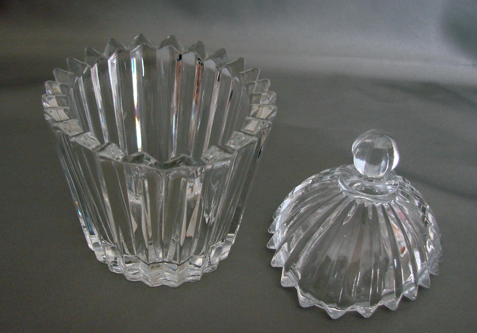 MIKASA Diamond Fire OVAL Trinket Covered Dish image 2