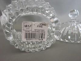 MIKASA Diamond Fire OVAL Trinket Covered Dish image 3