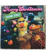 Merry Christmas From Sesame Street [Original recording] [Vinyl] Jim Hens... - $42.95