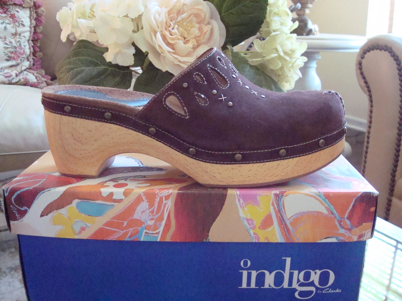 Primary image for Women's Indigo by Clarks Clogs Size 11