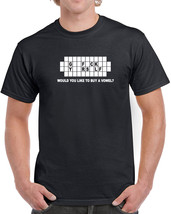 056 Would you Like to Buy of Vowel mens T-shirt funny rude NEW swear word curse - $15.00+