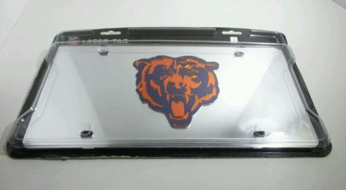 Official NFL Chicago Bears Laser Tag Durable Acrylic Mirror