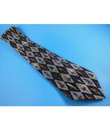 Nichole Miller Silk TIE Fishing Lures 1997 necktie Blues made in Korea F... - $5.96