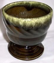 "Hull ""Green Drip"" Vase - #F34 - $14.80"