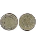"1904 Liberty ""V"" Nickel - €2,64 EUR"