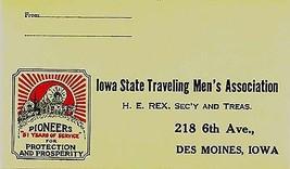 1930's Iowa State Traveling Men's Association, Des Moines - $5.89
