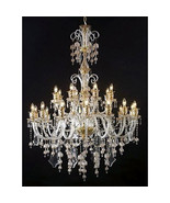 Magnificent Grand French  Marseille Large Crystal Chandelier,50''D x 70'... - $4,500.00