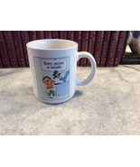 Hallmark Every Opinion Is Valuable Who Asked You Vintage Ceramic Coffee ... - $5.94