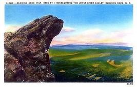 1940's Blowing Rock, over Johns River Valley, North Carolina - $5.89