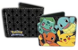 Pokemon Kanto Starters Bi-Fold Wallet *NEW* - $21.99