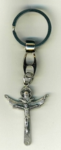Key Ring - Trinity Cross - 1 1/2 inches - L105.0248 image 1