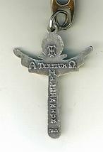 Key Ring - Trinity Cross - 1 1/2 inches - L105.0248 image 3