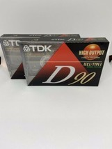 Cassette Tape TDK D90 High Output Dynamic Performance Type I New Factory... - $12.77