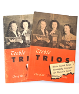 "Two Vintage Christian Music Books -1946 ""Treble Trios Choice Sacred Song... - €7,89 EUR"
