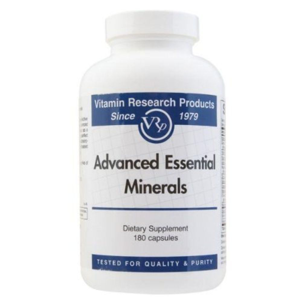 Advanced Essential Minerals - 180 capsules by Vitamin Research Products